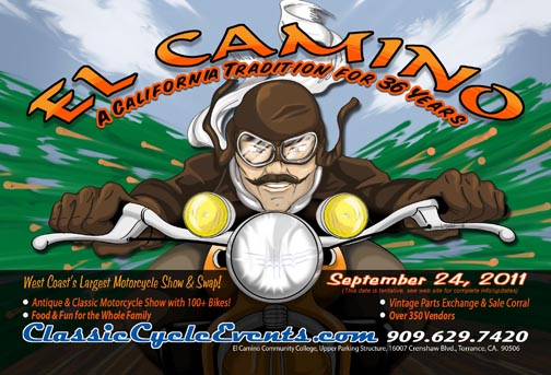 El Camino Historic Motorcycle Event
