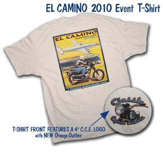 el camino 2010 event t-shirt